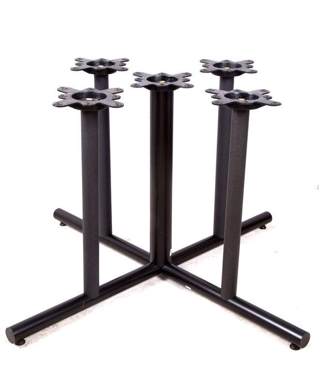 Cast Iron Table base Custom Dining Table Base  Metal Furniture Legs Powder Coated