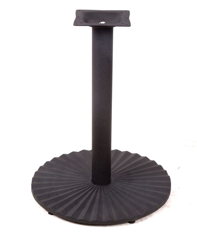 Popular Round Metal Table Base Cast Iron DiningTable Legs For Dining Room