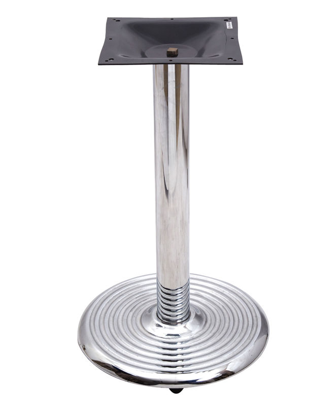 0401c Bistro Table Base / Chrome Table Legs With 18' /22'/28' Round Base