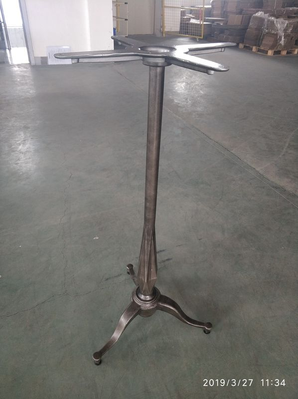 Unfinished Coat Metal Kitchen Table Legs / High Table Legs Custom Size